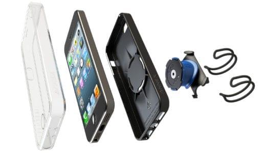 ワンタッチでiPhoneを壁面や自転車のハンドル、自動車などにマウントできる「Quad Lock」が国内販売開始