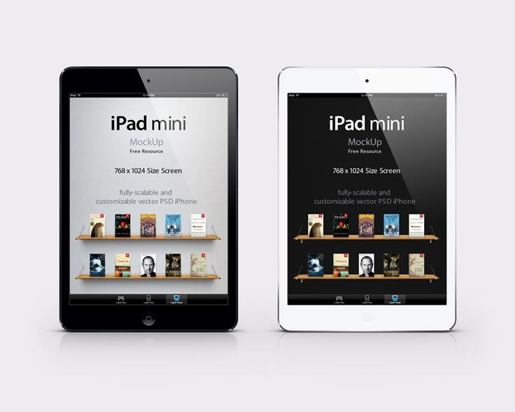 Mini-iPad-B&W-Mockup