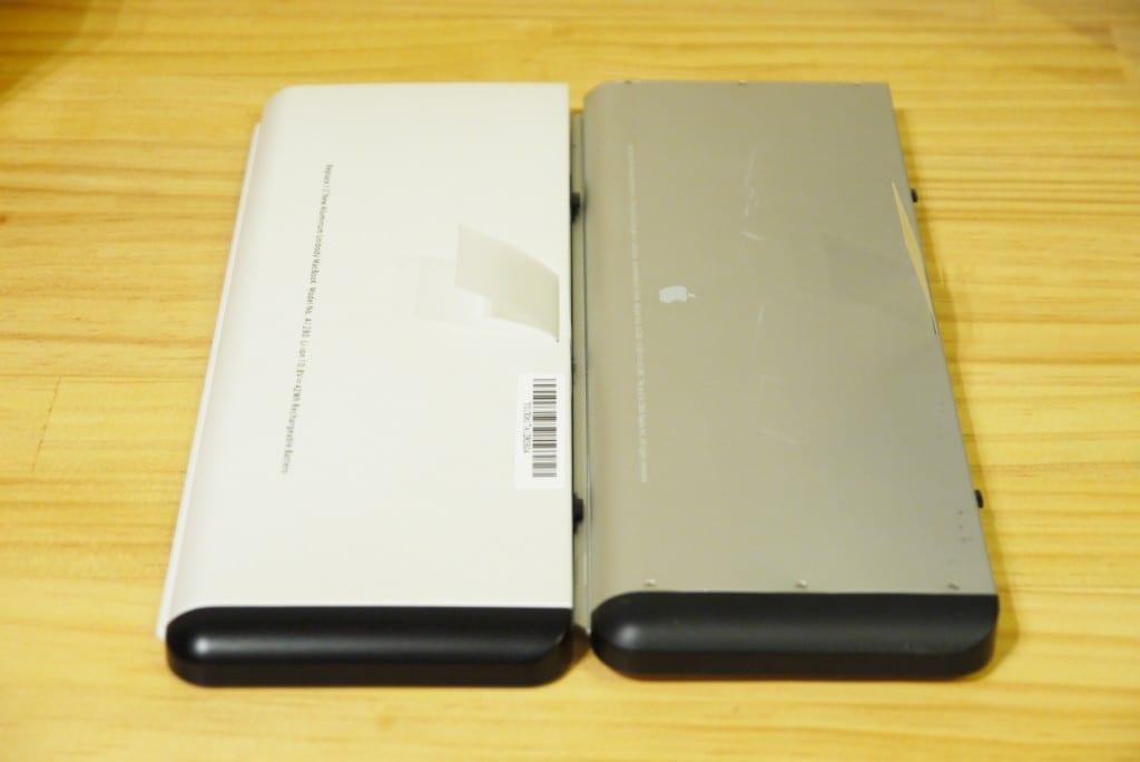Macbook バッテリー膨張