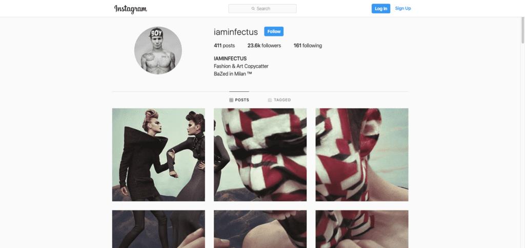 iaminfectus instagram