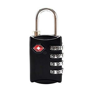 TSAロック 南京錠 タイプ
