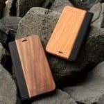 木目の美しさをシンプルに表現した手帳型木製iPhoneケース +LUMBER(プラスランバー)
