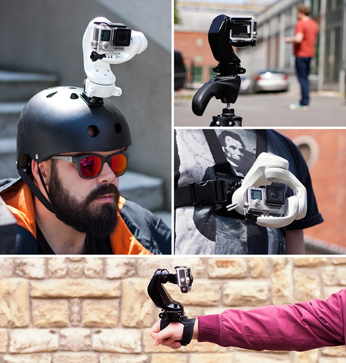 Sybrillo - The most versatile GoPro accessory