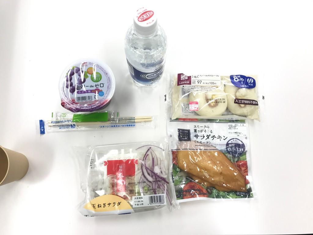 糖質ダイエット_昼食例1