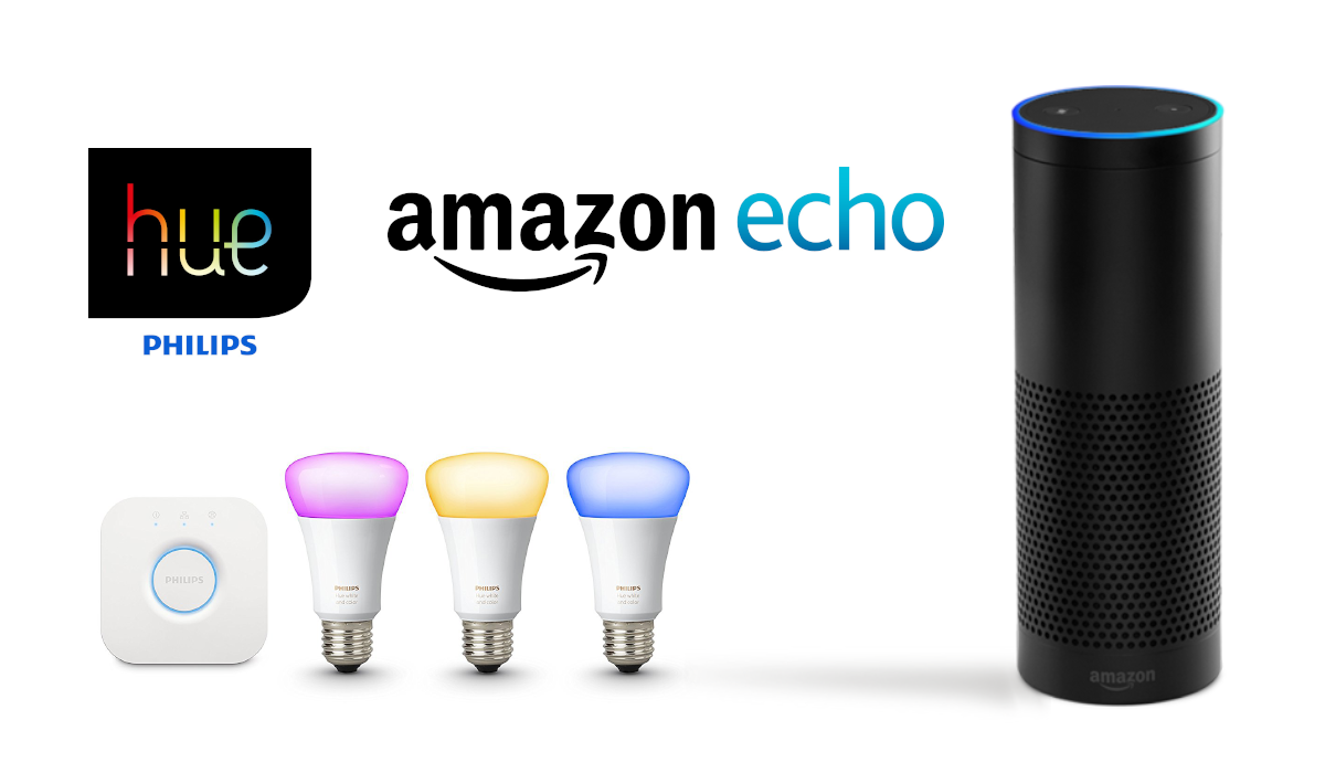 amazon echo plus philips hue. Black Bedroom Furniture Sets. Home Design Ideas