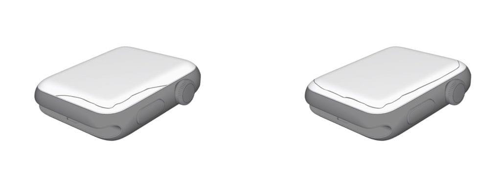 「Apple Watch」の画面交換プログラム開始