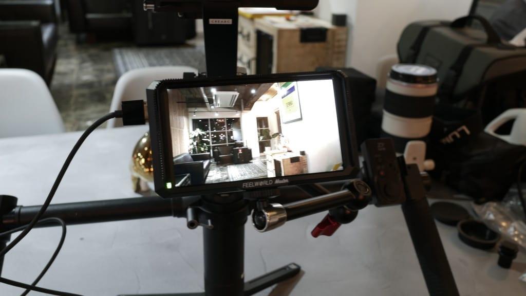 液晶フィールドモニター FEELWORLD Master MA5 カメラ用撮影モニター 5インチ