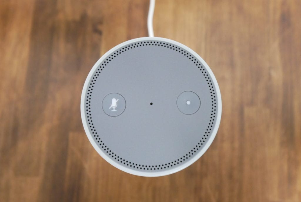 Amazon Echo 黄色ランプ