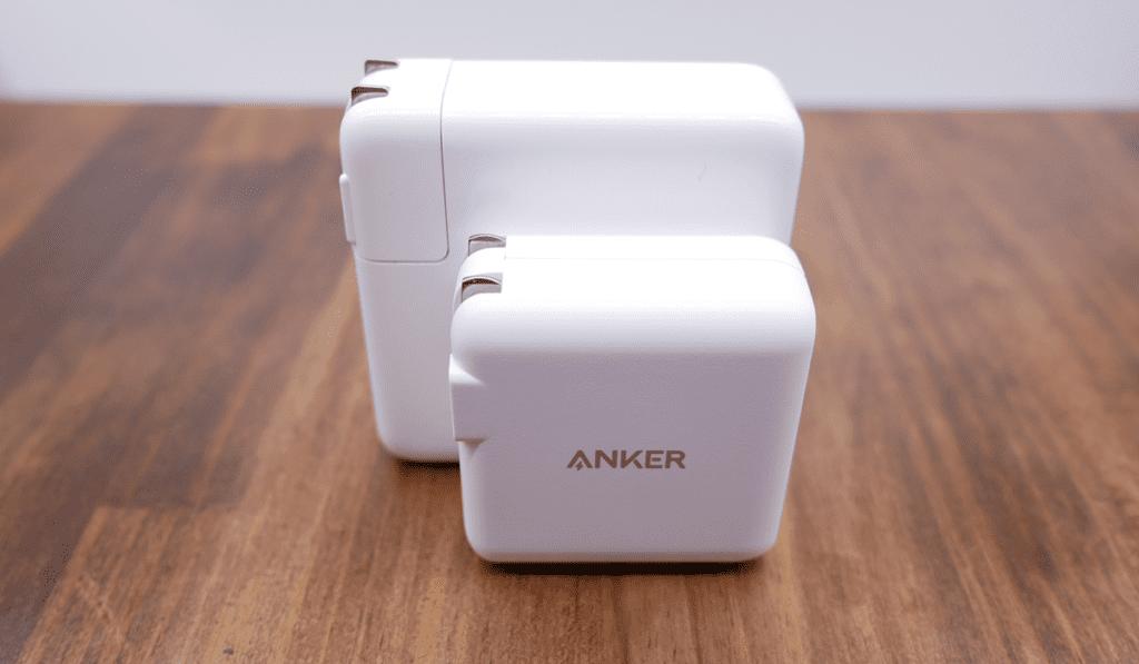87W USB-C Power Adapter との比較