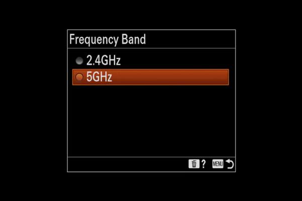 α9-II 機能 5GHz Wi-Fi®対応