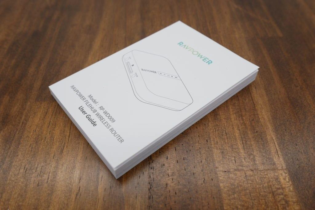 RAVPower Wi-Fi SDカードリーダー FileHub レビュー