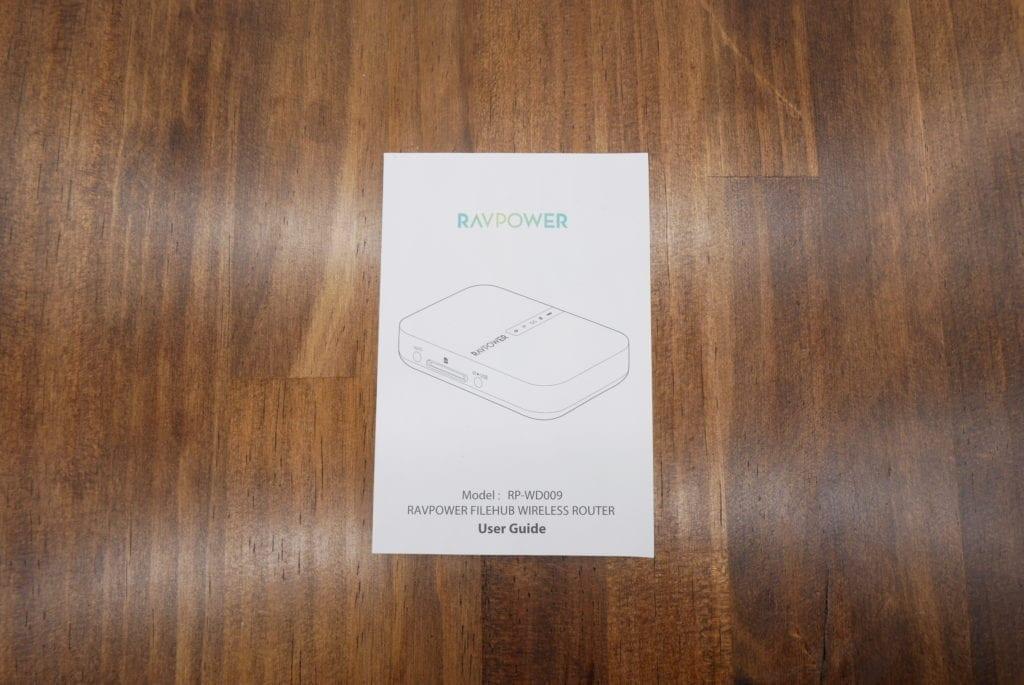 RAVPower Wi-Fi SDカードリーダー FileHub RP-WD009