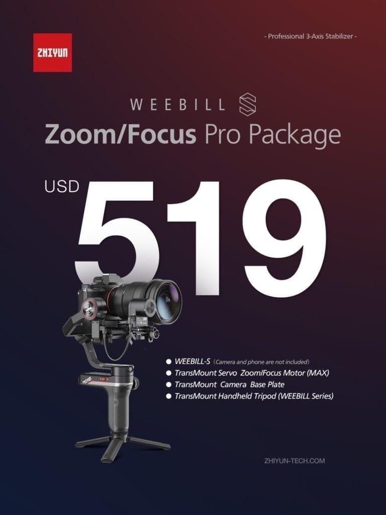 WEEBILL-S ズーム/フォーカス プロパッケージ