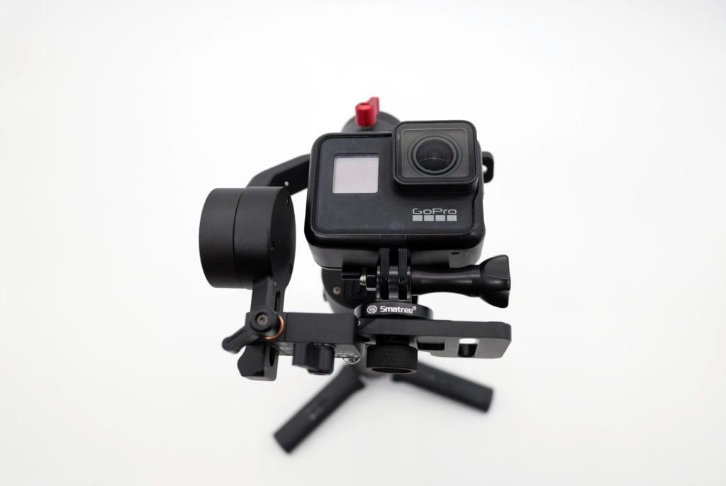 ZHIYUN CRANE M2 アクションカメラ取り付け