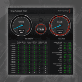 Blackmagic Disk Speed Test 使い方