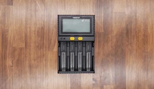 LCDスクリーン付きでリチウムイオンバッテリーの充電状況が一目瞭然のMiBOXER C4