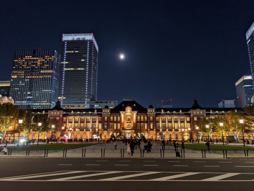 Google Pixel 4 夜景モードで撮影