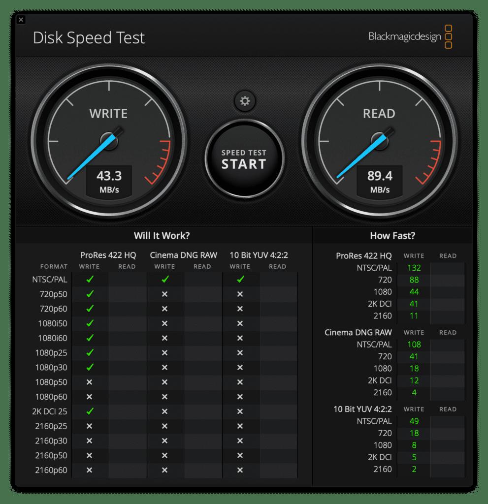 170mb 128GB Etreame Pro Test2