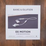 Bang & Olufsen E6 Motion レビュー