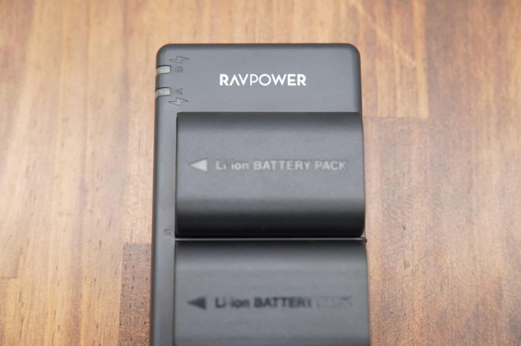RAVPower バッテリーパック キャノン LP-E6 互換バッテリー
