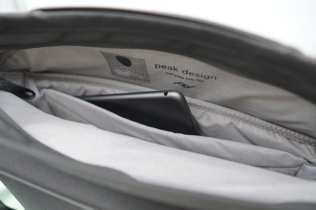 peak design ピークデザイン everyday tote 15L レビュー