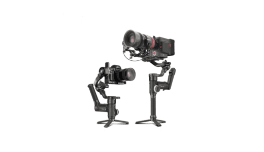 大型カメラが搭載可能6.5kgのペイロード対応 Zhiyun CRANE 3S がついに登場 !