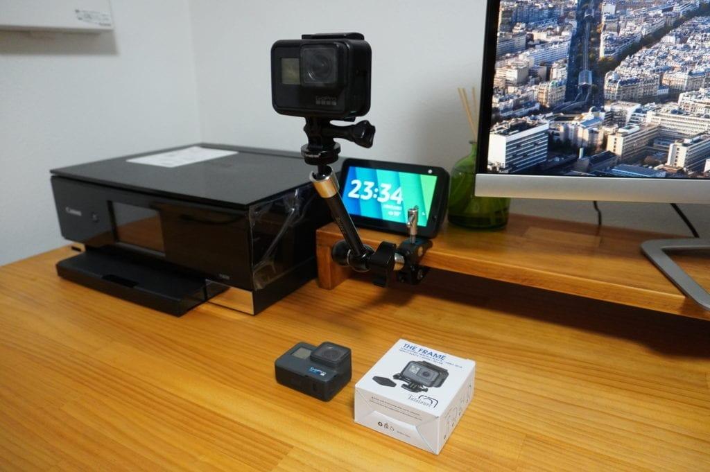 GoPro ネイキッドフレーム マウント方法