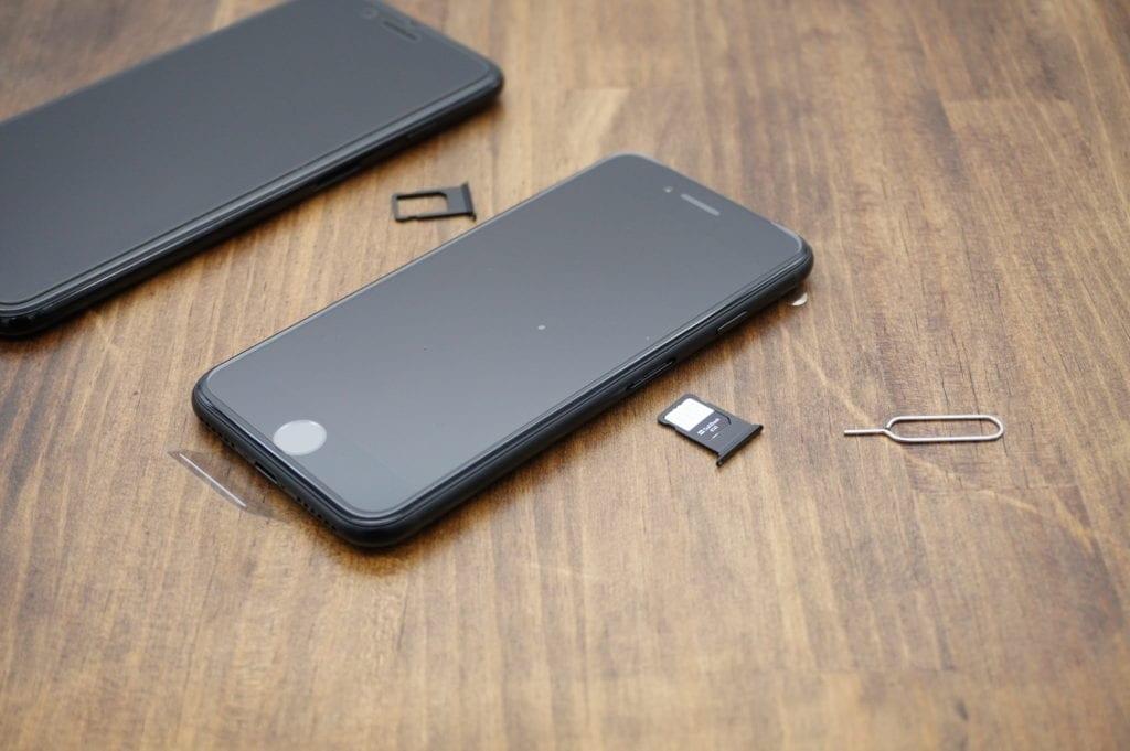 iPhone 機種変更 SIM差し替え
