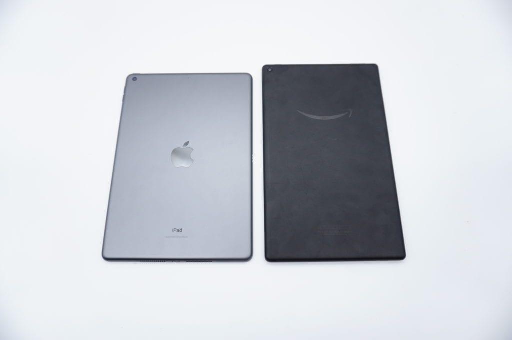 アマゾン fire HD 10 ipadとの比較