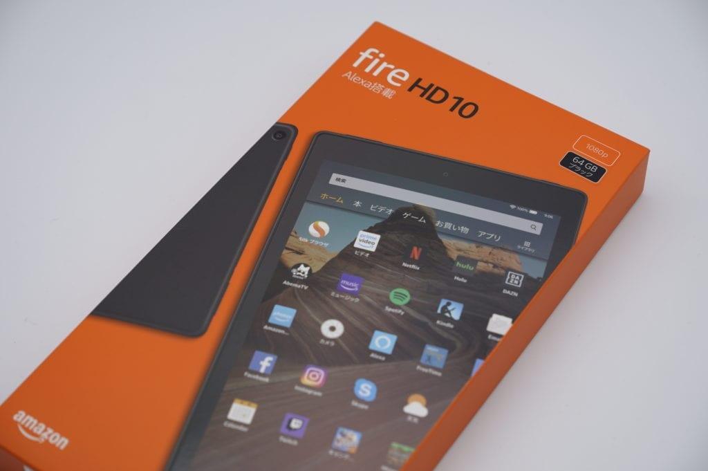 アマゾン fire HD 10