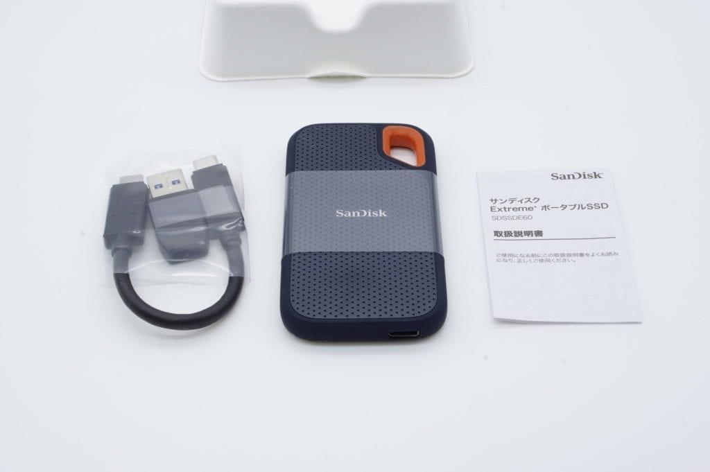 エコパッケージ版 Sandisk Extreme ポータブルSSD