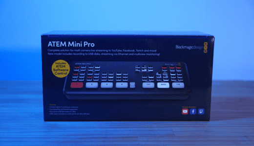 ATEM Mini Pro 初期セットアップ方法とファームウェアアップデート方法を丁寧に解説