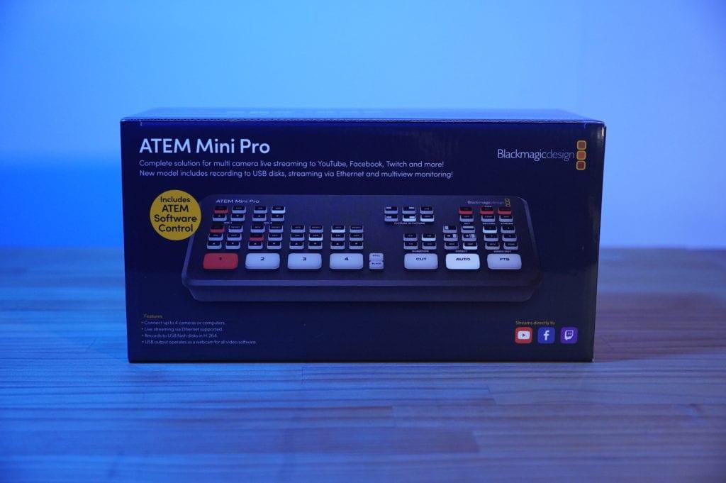 Atem mini Pro レビュー