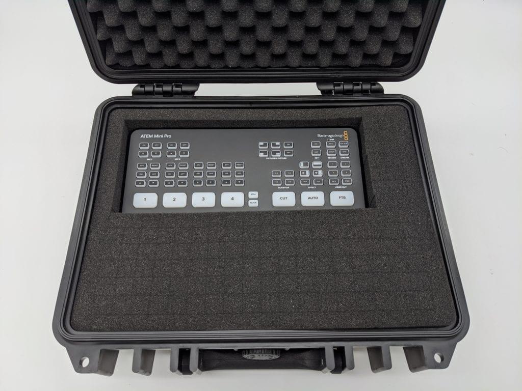 ATEM Mini Pro ハードケース