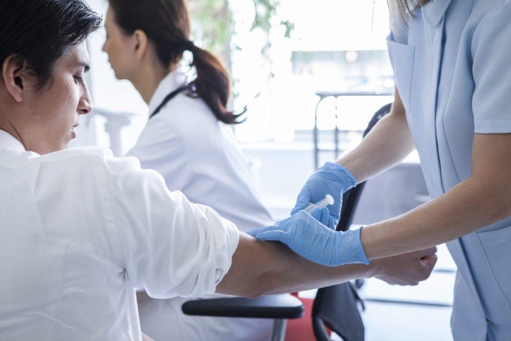 採血 アレルギー検査
