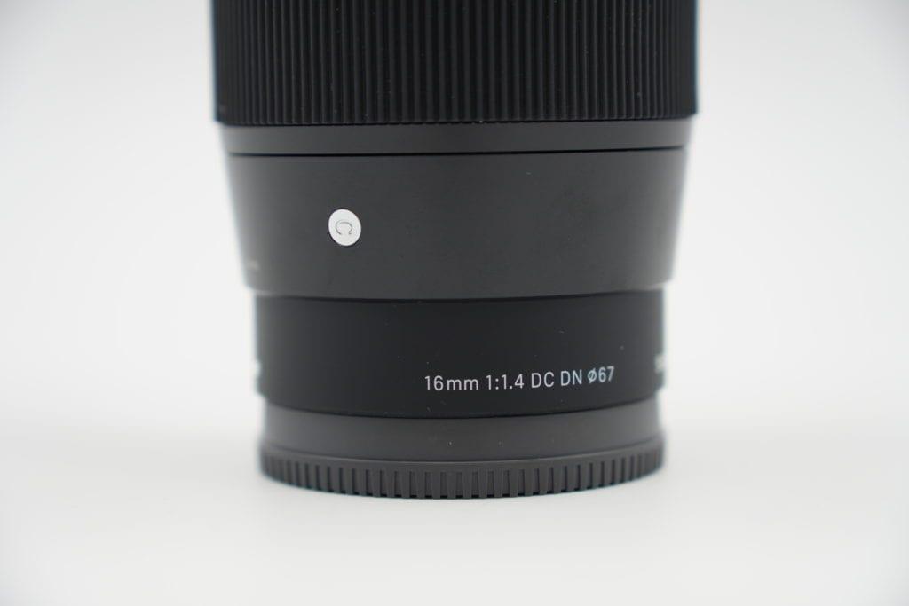 SIGMA 16mm F1.4 DC DN | Contemporary C017