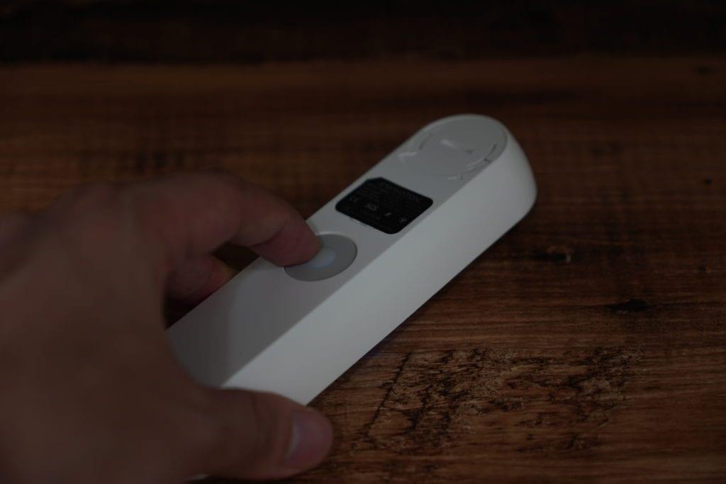 紫外線除菌機「MAHATON」手持ち除菌方法