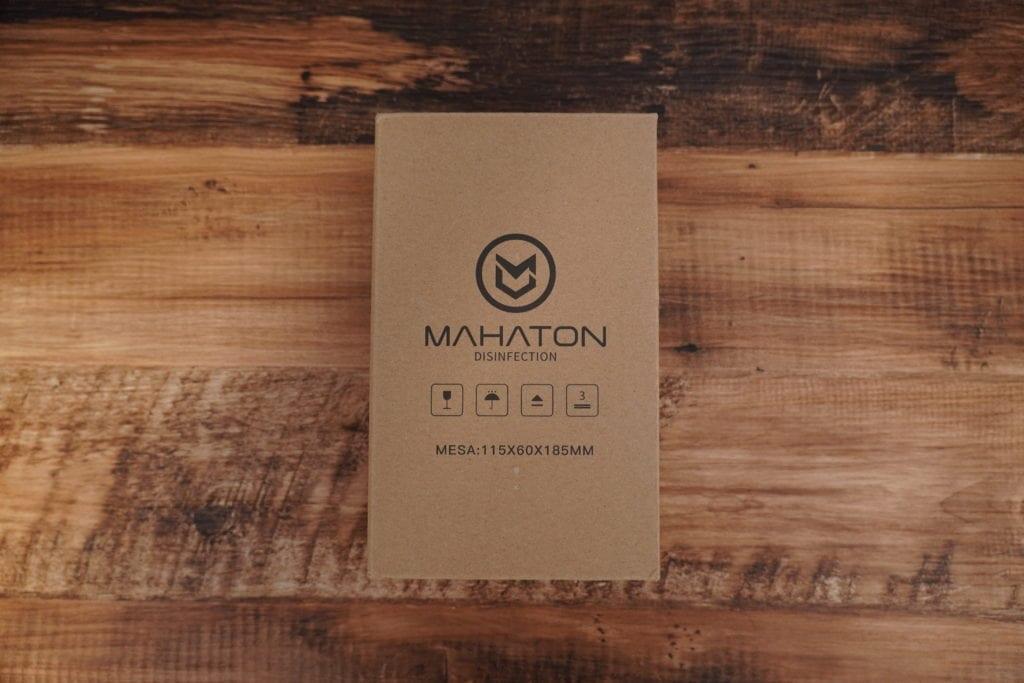紫外線除菌機「MAHATON」レビュー