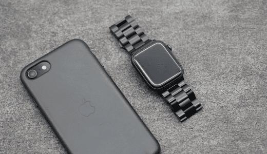 【レビュー】安いのに高級感溢れ出す Apple Watch ブラックステンレス バンド44mm用