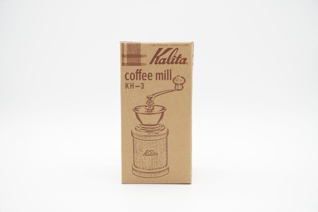 Kalita コーヒーミル 手挽き ブラウン