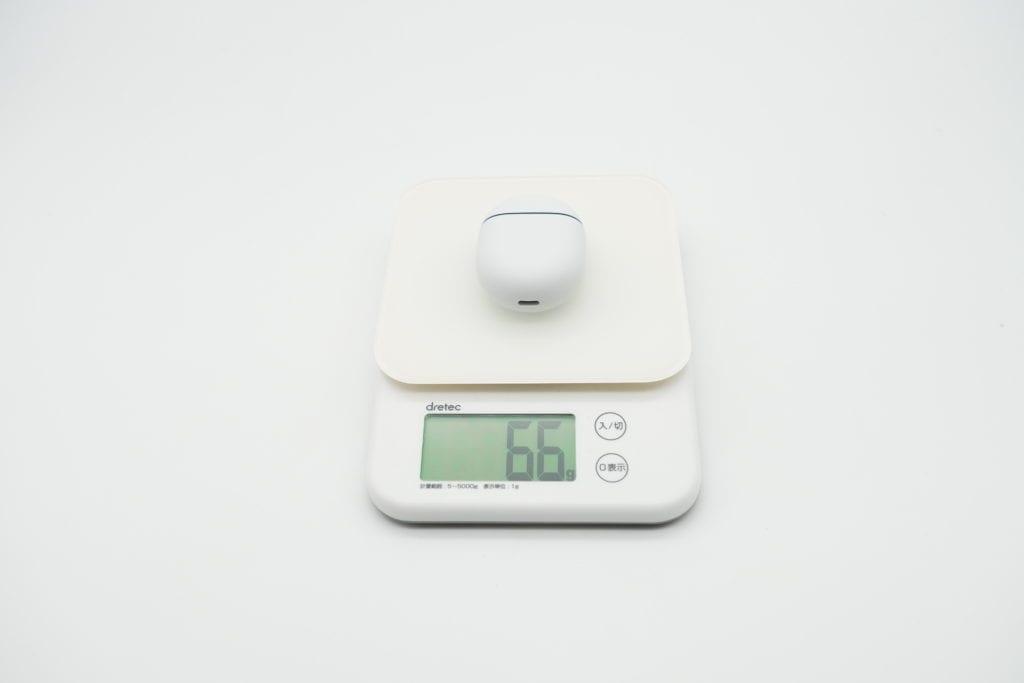 Google Pixel Buds 本体重量