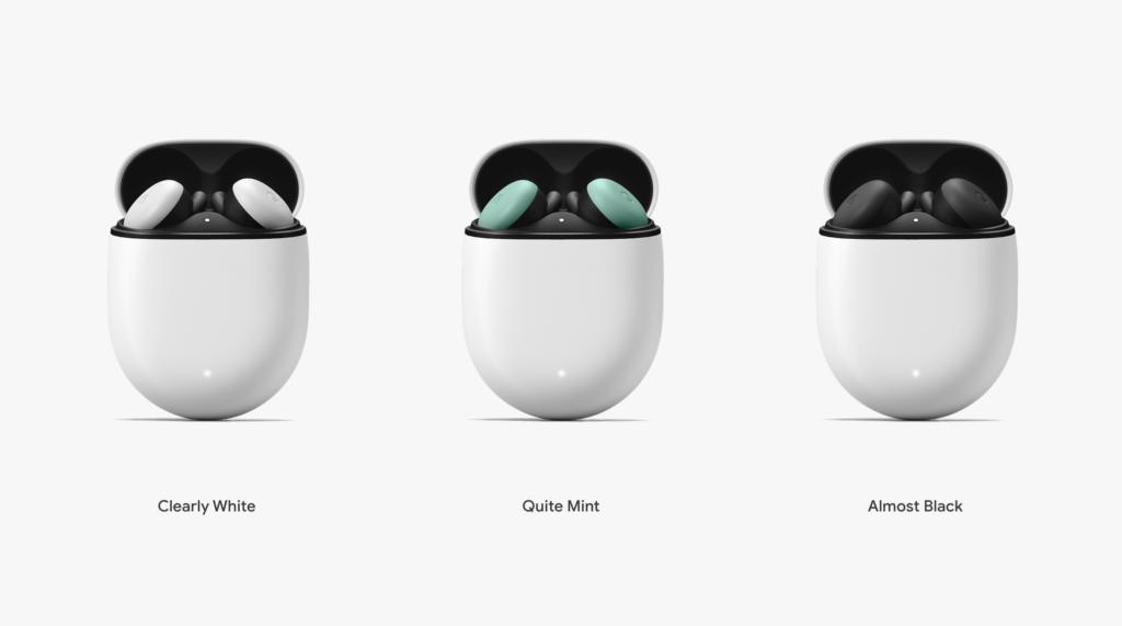 Google Pixel Buds カラーバリエーション