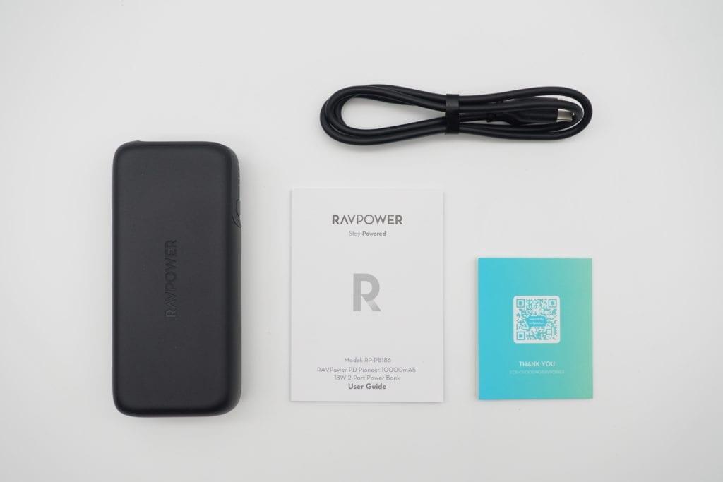 RP-PB186 RAVPower 同梱品