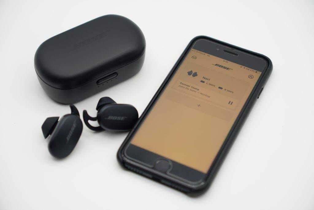 BOSE QuietComfort Earbuds 専用アプリ