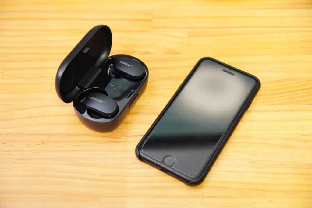 BOSE QuietComfort Earbuds ペアリング方法