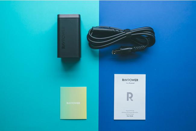 RAVPower RP-PC136 レビュー 同梱品