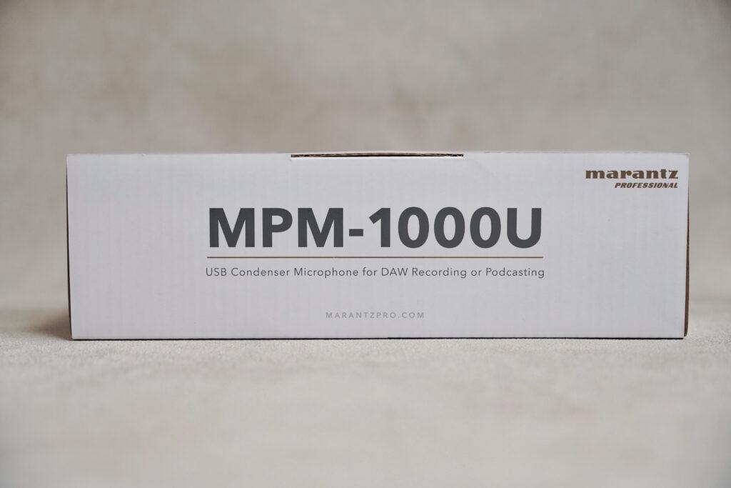 888M マランツプロ USBコンデンサーマイク レビュー