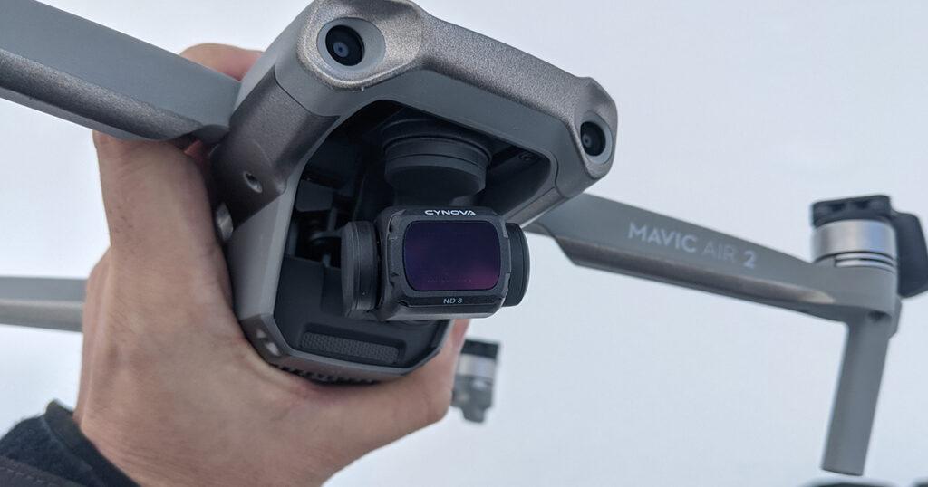 DJI MAVIC AIR 2 NDフィルターセット レビュー