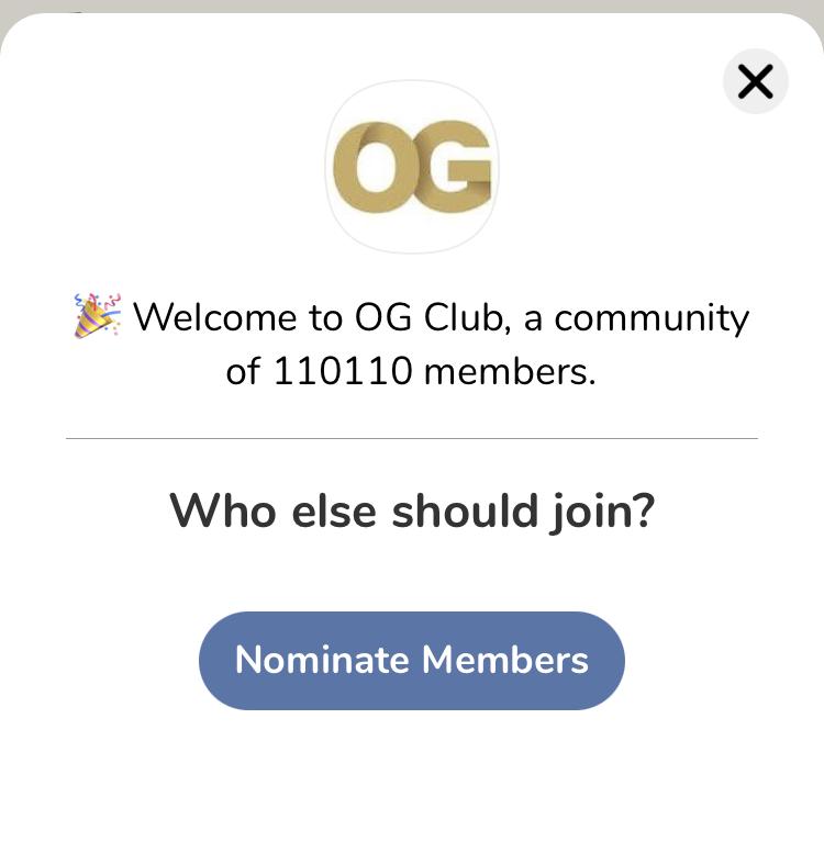 Clubhouse OG club