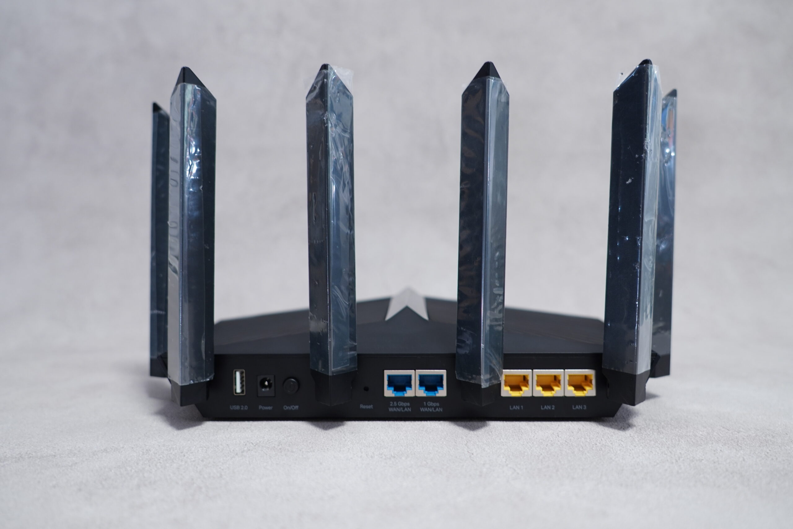 TP-Link Archer AX90 背面ポート